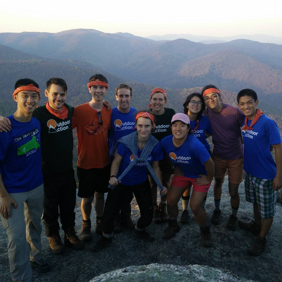Fall 2016 ALTT on Old Rag