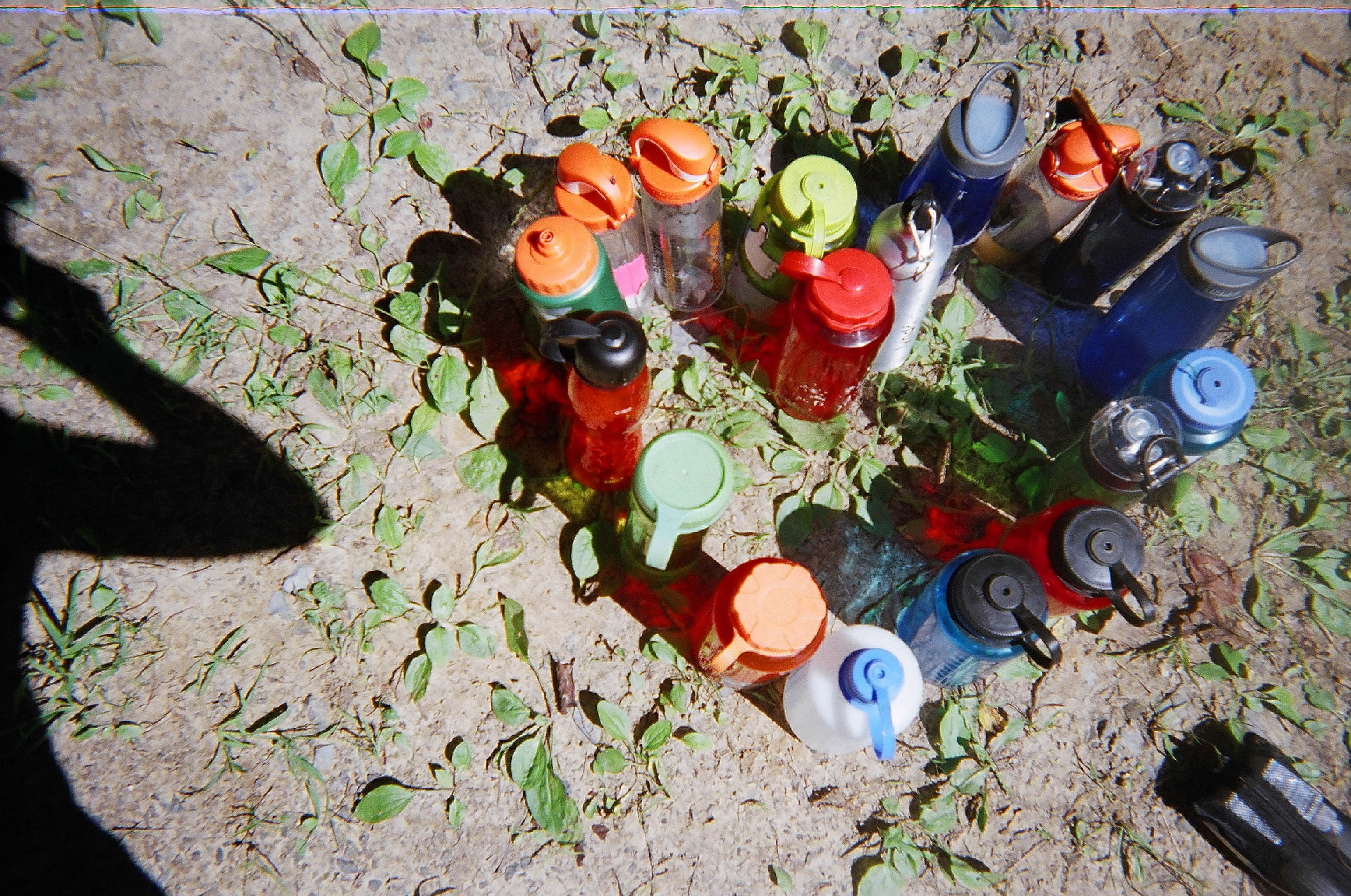 HEART made from Water bottles