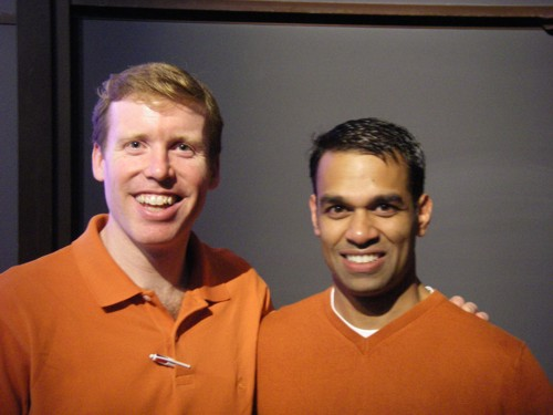 Temp Keller '98 and Rajiv Vainnakota '93