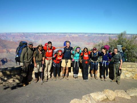 Leave No Trace Master Educator Course in the Grand Canyon