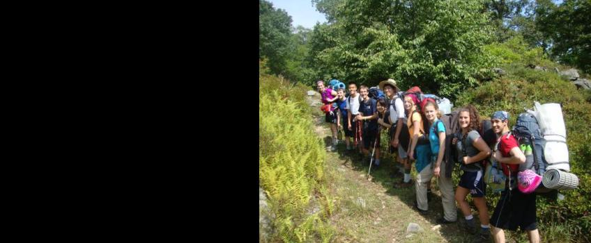 Frosh Trip Canoeing & Backpacking