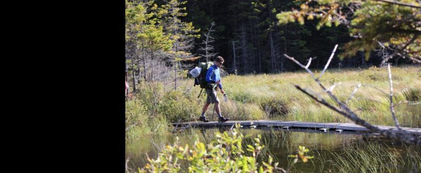 Frosh Trip Backpacking & Rock Climbing